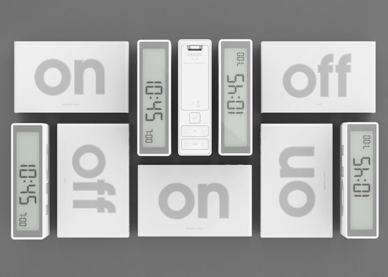 flip wecker von adrian und jeremy wright f r lexon. Black Bedroom Furniture Sets. Home Design Ideas