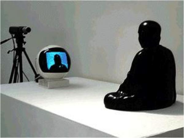 TV buddha 1974 namJunPaik
