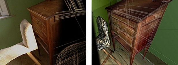 Goethe Gartenhaus III - 3D
