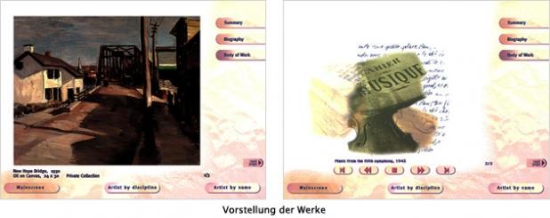 Interfacedesign - Werke
